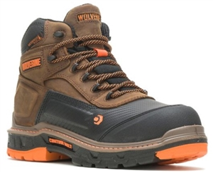 "Wolverine - Overpass WP CarbonMAX® 6"" Boot-  Brown"