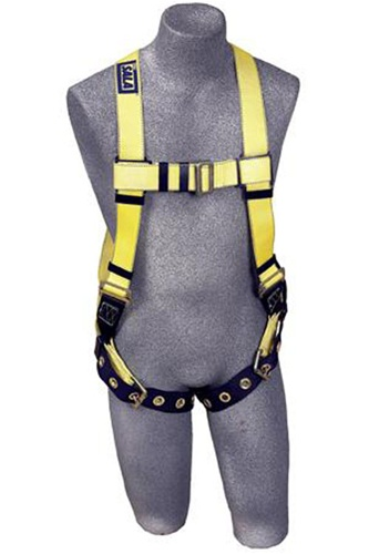 Dbi sala delta ii harness with back d ring and tongue for Sala safety harness