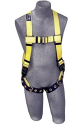 DBI Sala - Delta II Harness with back D-ring and tongue buckle leg straps