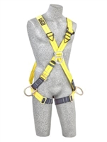 DBI SALA - Delta II full body harness - cross-over style design -back, front - side D-rings