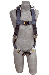 DBI SALA ExoFit™ Full Body Harness - Back and Shoulder D-rings, Loops for Belt, Quick-Connect Buckles