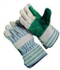 Seattle Glove - Double Leather Green Palm
