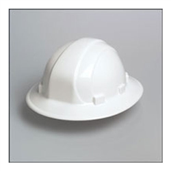 Omega II - Mega Ratchet Hard Hat - White