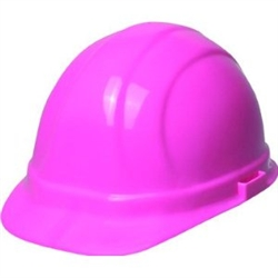 ERB - Omega II - Cap Style Hard Hat - Ratchet Style -Pink