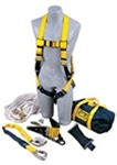 Roof Anchor Fall Protection Kit