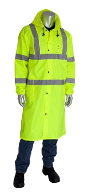 "PIP - Class 3 All Purpose 48"" Raincoat with Hood"