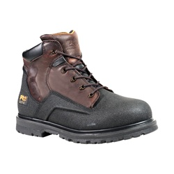Timberland Men's Waterproof PowerWelt 6 in. Steel Safety Toe Color: Rancher Worchester