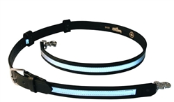 Boston Leather - Reflective Firefighter's Radio Strap