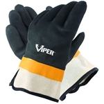 Galeton - Viper™ Double Coated PVC Gloves, Safety Cuff