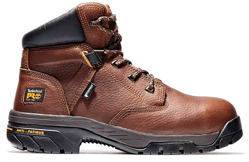 Timberland PRO® Men's Helix 6-Inch WP Safety Toe Color: Brown
