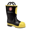 Rubber Insulated Felt Fire Boot with Lug Sole