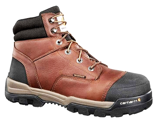 Carhartt - Men's Ground Force 6in Soft Toe  WP Work Boot