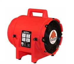 "Air Systems 8"" Canister Axial Fan With 25 Foot Duct Canister"