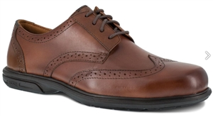 Florsheim - Men's Loedin Wing Tip Oxford - Brown ESD ST