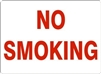 NO SMOKING Sign 10x14