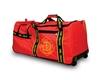 OccuNomix Fire Fighter Gear Bag with Wheels Red