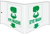 EYE WASH Emergency 3D Sign 6x12