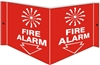 FIRE ALARM 3D Acrylic Sign 6x12