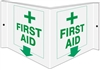 FIRST AID 3D Acrylic Sign 6x12