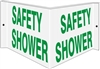 SAFETY SHOWER... 3D Acrylic Sign 6x12
