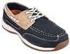 Rockport - Women's Sailing Club 3 Eye Tie Steel Toe Boat Shoe Blue