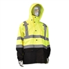 RADIANS Class 3 General Purpose Rain Jacket with Hood