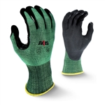 Radians AXIS™ Cut Protection Level A2 Foam Nitrile Coated Glove with Dotted Palm