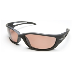 Edge -  Kazbek XL Black Frame with Polarized Copper Lenses