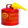 Eagle - Type I Diesel Safety Can With Funnel, 5 Gal Red