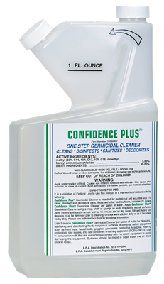 MSA Confidence Plus® - One-Step Germicidal Cleaner