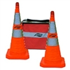 "Aervoe -  28"" Safety Cone - Collapsible Kit 5-Pack"