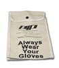 PIP - Canvas bag for 11-inch rubber insulating glove, natural color