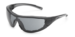 Gateway - Swap™ Black Frame with Foam Edge/Gray Anti-Fog Lens