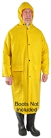 "Seattle Glove - 48"" Trench Raincoat Yellow"