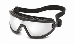 Gateway - Wheelz - Black Frame - Silver Mirror Anti-Fog Lens