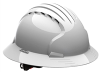 PIP - Evolution Deluxe Full Brim Hard Hat - White