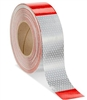 "Reflective Conspicuity Tape - 2""x150', Red/Silver"