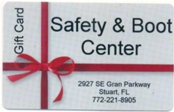 Safety & Boot Center Gift Card