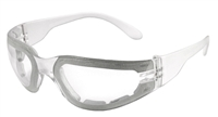 Radians Mirage™ Clear Lens Foam Safety Eyewear