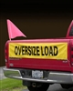 "Oversize Load 12"" x 60"" Banner for Escort Vehicles"
