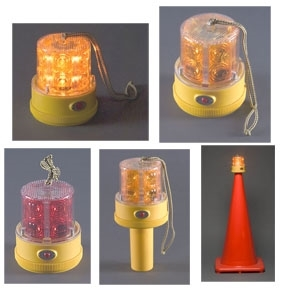North American Signal - Personal Safety Light - 24 LED - Amber