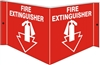 FIRE EXTINGUISHER... 3D Acrylic Sign 6x12