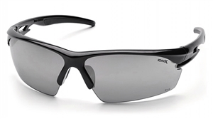 Pyramex - IONIX- Silver Mirror Lens with Black Frame