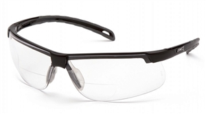 Pyramex - Ever-Lite Clear Reader Lens with Black Frame