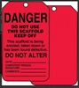 Scaffold Status Safety Tag: Danger-
